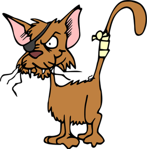 Scary Cat Clipart
