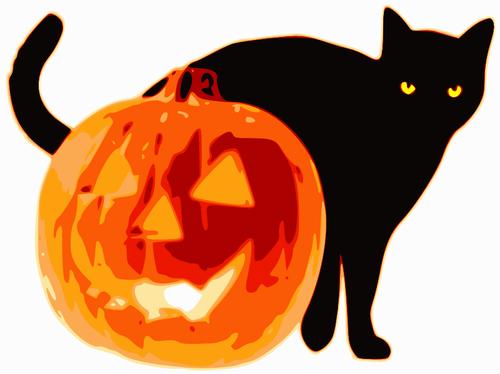 500x374 21952 Black Cat Silhouette Clip Art Free Public Domain Vectors