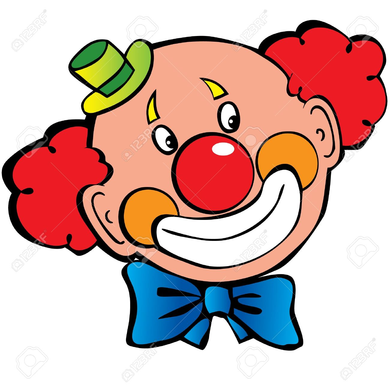 1300x1300 Clown Face Clipart Amp Look At Clown Face Clip Art Images