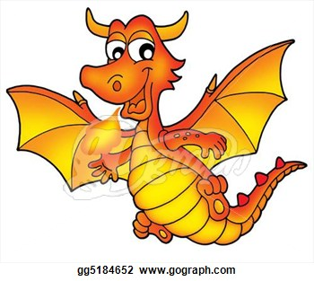 350x313 Red And Yellow Clipart Dragon Amp Red And Yellow Clip Art Dragon