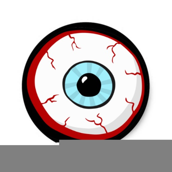 600x600 Scary Eyeball Clipart Free Images