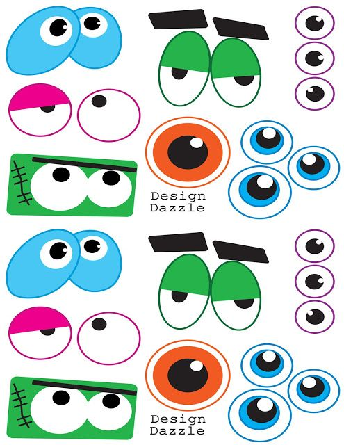 495x640 Clipart Eyes Monster Scary