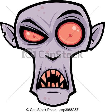 442x470 Vector Cartoon Illustration Of The Creepy Vampire, Count