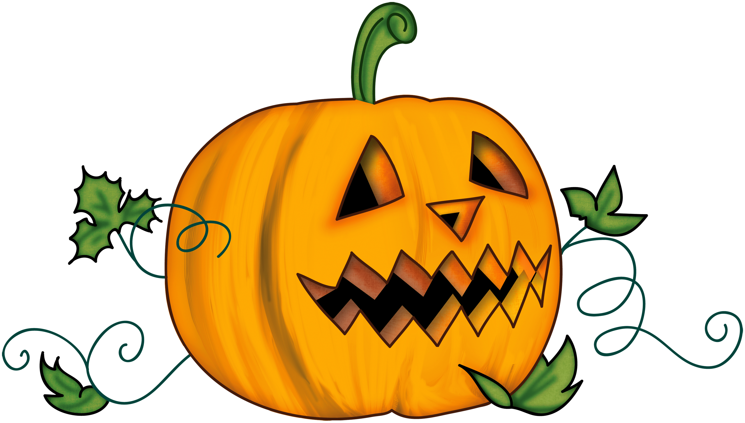 Halloween Pumpkin Cartoon Images.Scary Pumpkin Clipart At Getdrawings Com Free For Personal
