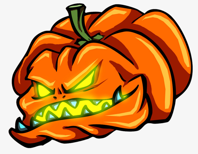 650x507 Scary Halloween Pumpkin Head, Halloween, Halloween Bash, Cartoon