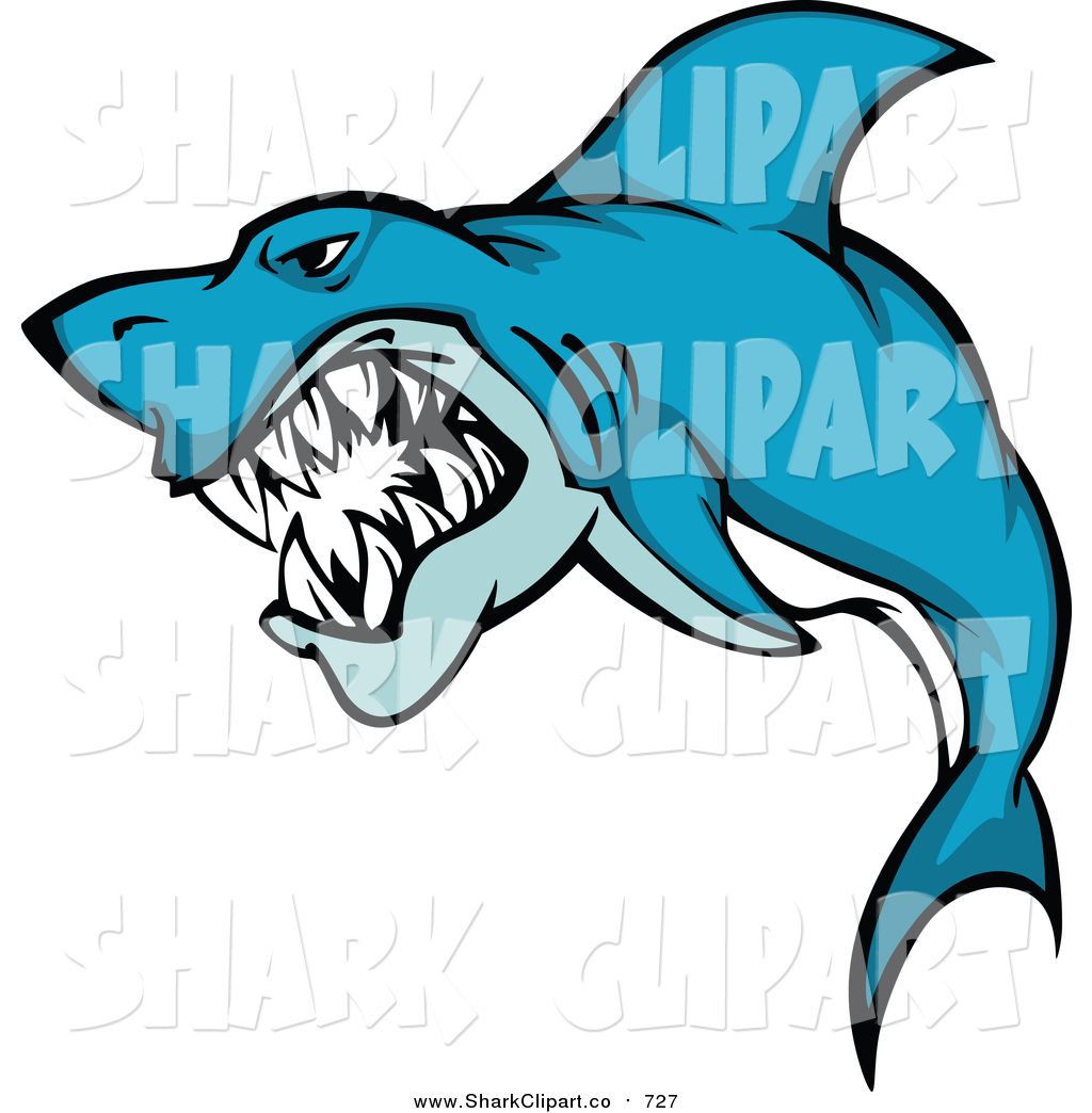 Scary Shark Clipart