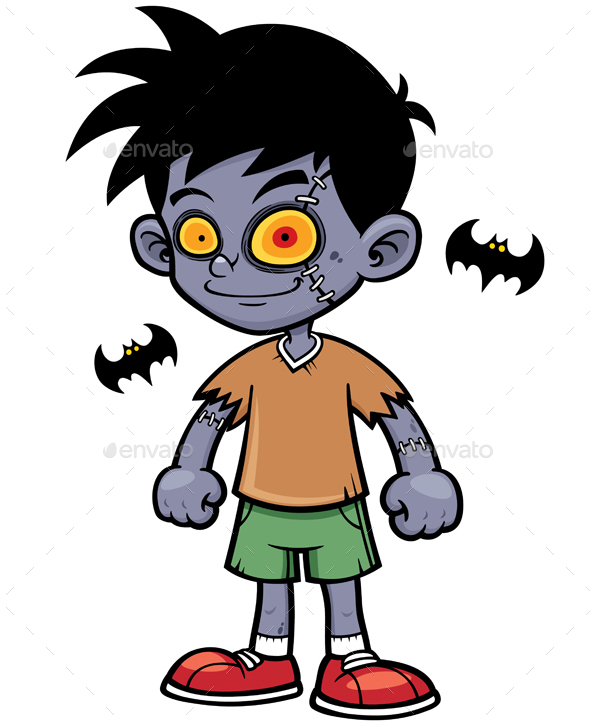 590x726 Zombie By Sararoom Graphicriver