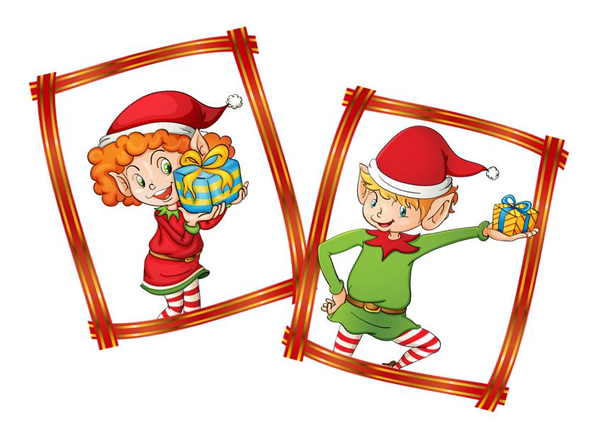 851x620 Christmas Scavenger Hunt Ideas