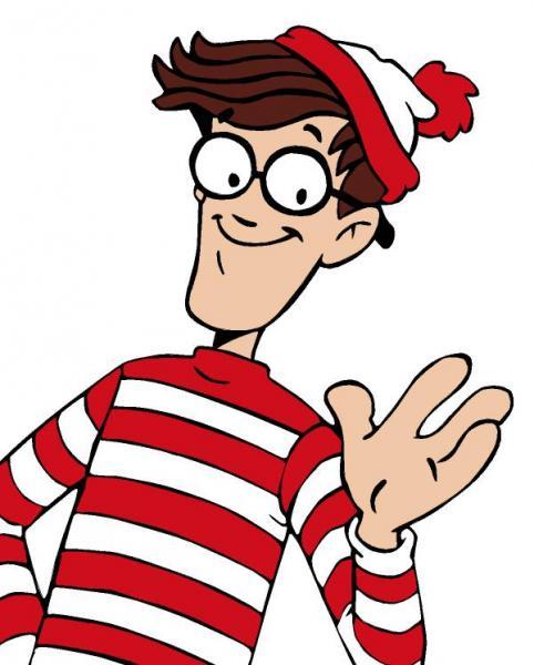 482x600 July Means Where's Waldo Scavenger Hunt
