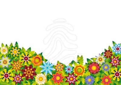 400x282 Flower Scenery Clipart
