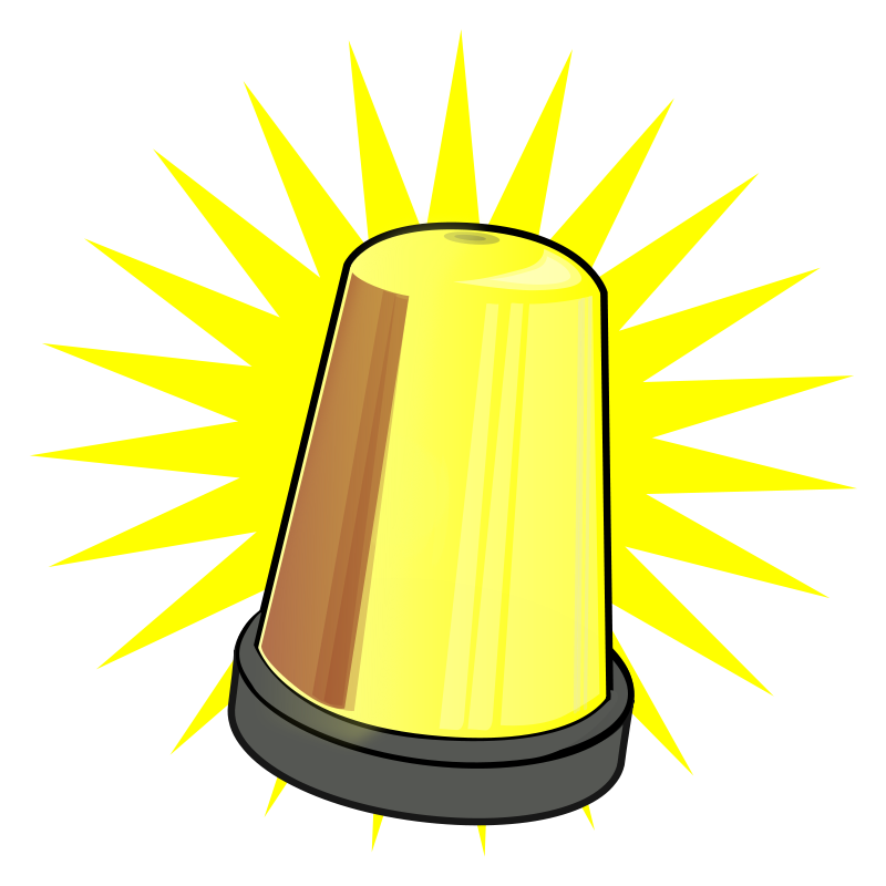 800x800 Free Clipart Yellow Signal Light scenery