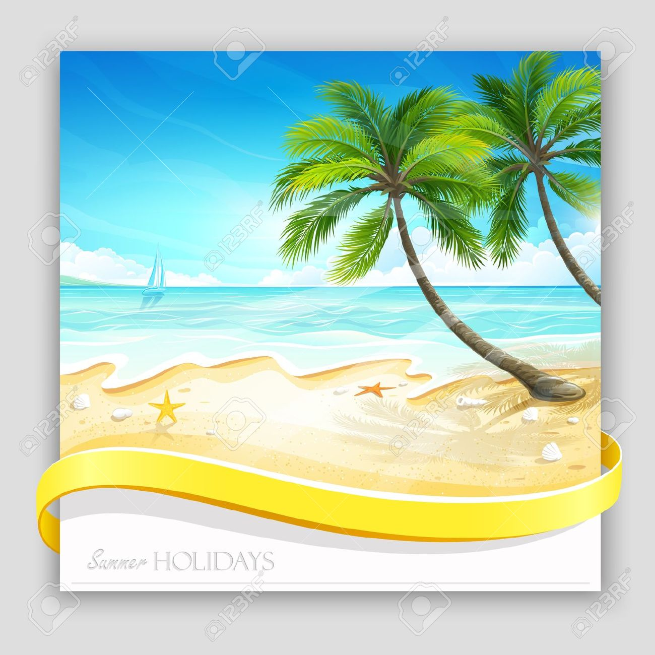 1300x1300 Summer Clipart scenery