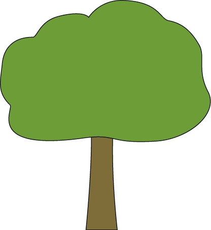 416x453 Tree Clip Art