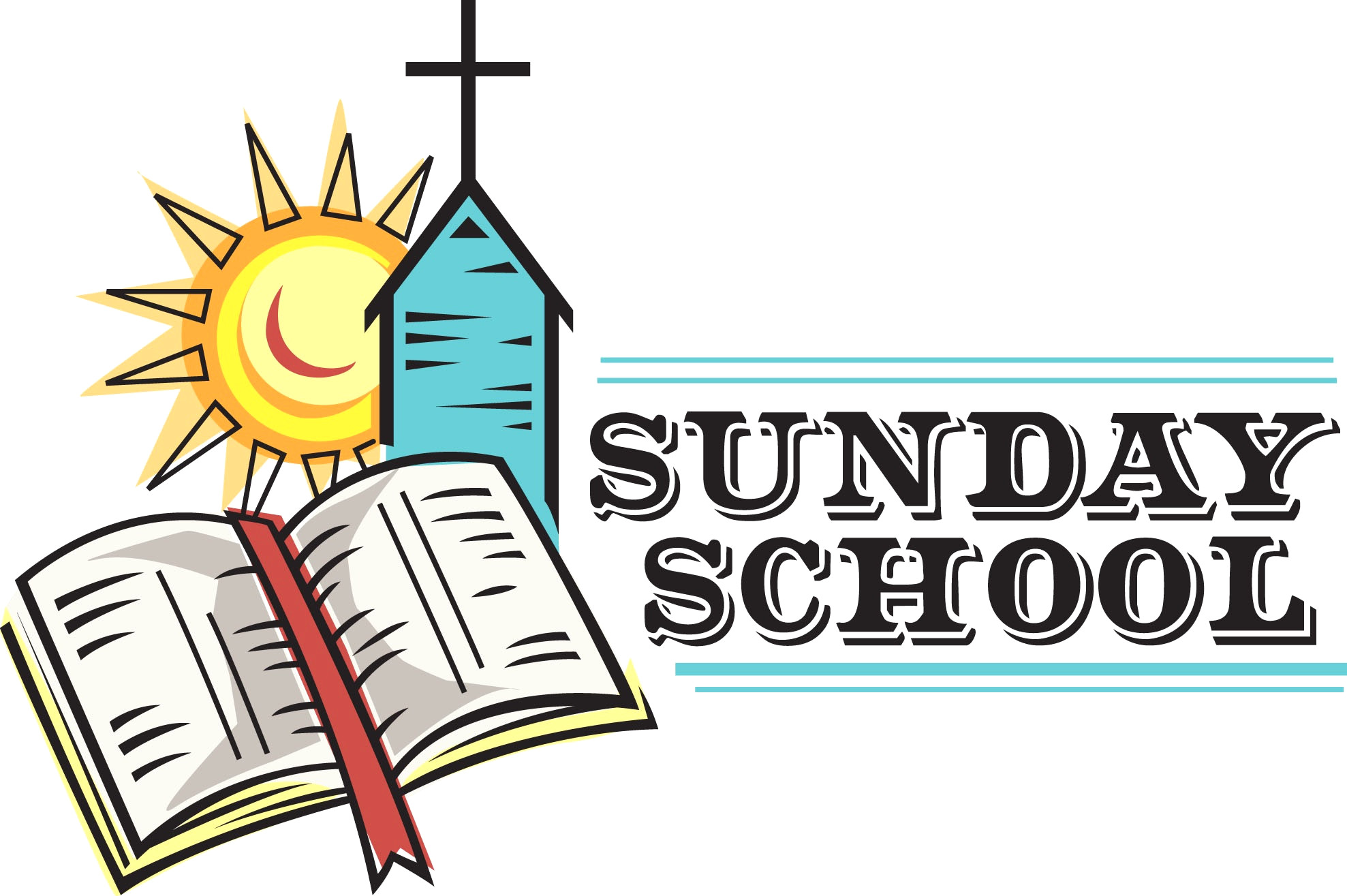 1977x1315 Clip Art Of Sunday School Teacher