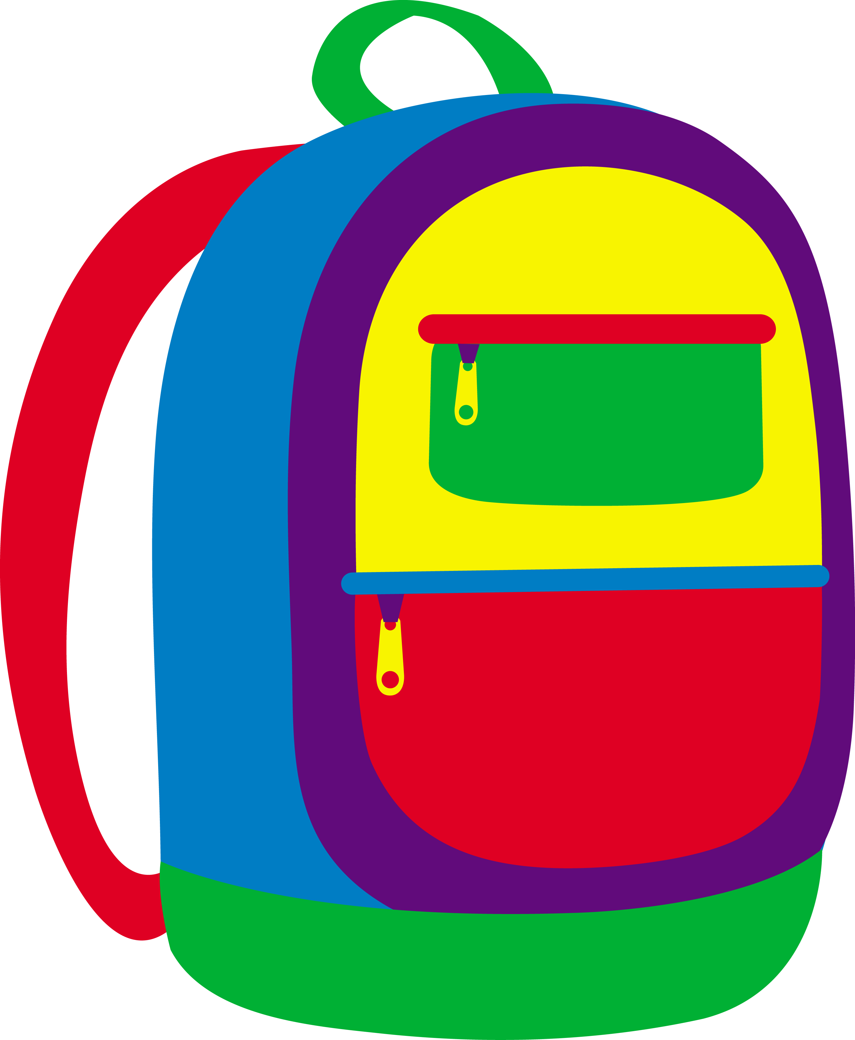 2898x3525 Colorful Childrens School Backpack
