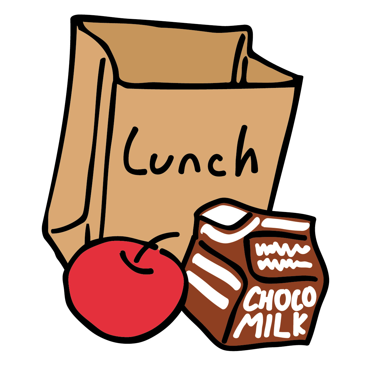 1200x1200 Lunch Bag Clipart Amp Look At Lunch Bag Clip Art Images