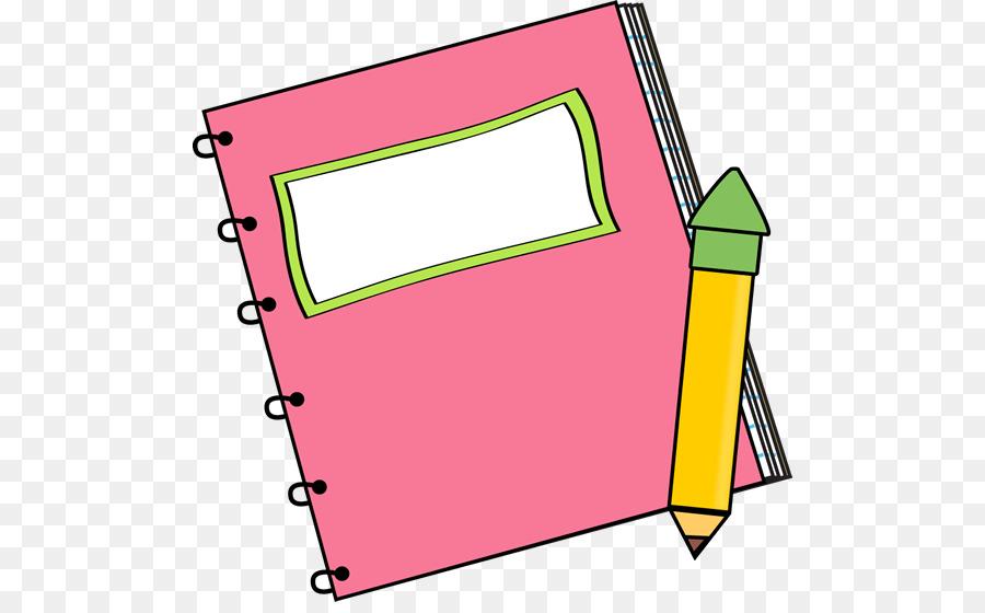 900x560 Paper Notebook Book Cover Clip Art