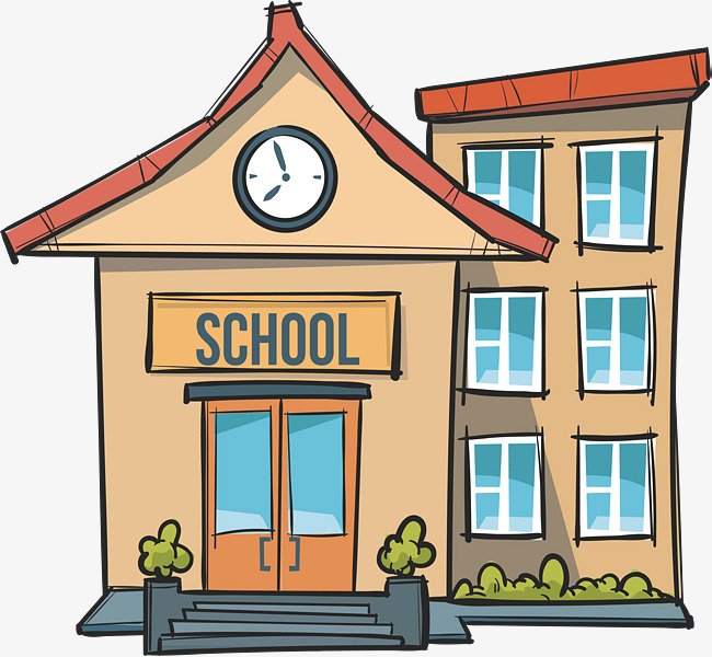 650x600 School Gate Clipart Hand Painted School Gate Vector Png School