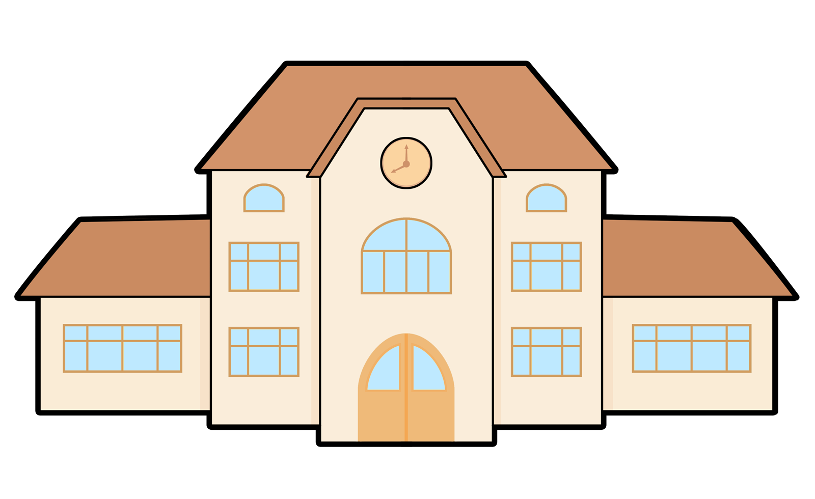 1600x980 You Can Use This Clip Art A Village Farm On Whatever Project