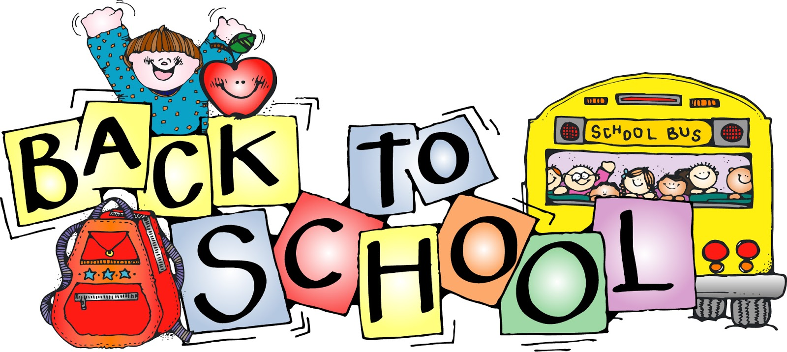 1600x716 Clip Art Back To School Free