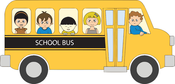 600x288 Image Result For School Bus With Children Clip Art Busy Boards