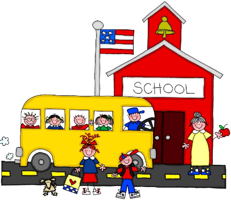 800x694 Clipart Early To School