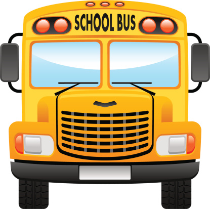 415x413 Collection Of School Bus Front View Clipart High Quality