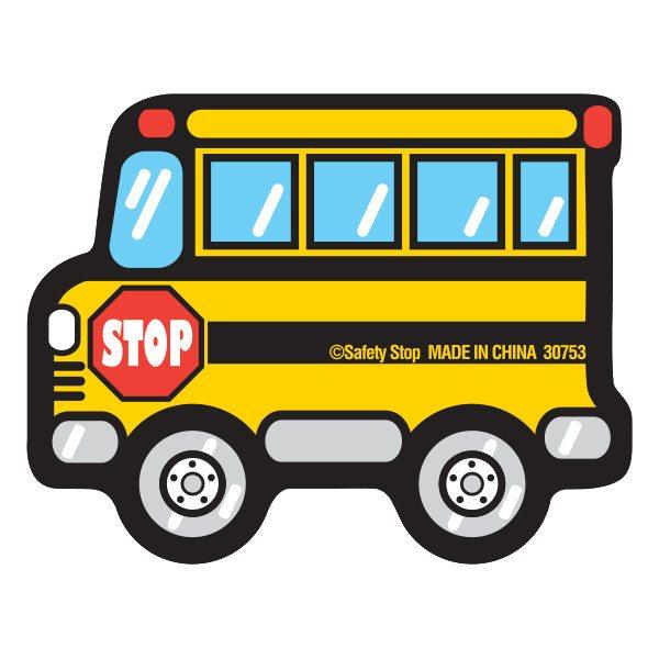 600x600 School Bus Eraser Pencil Eraser Bus Safety Stop