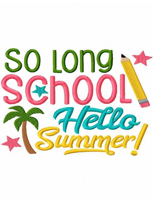 489x640 Schools Out Clipart