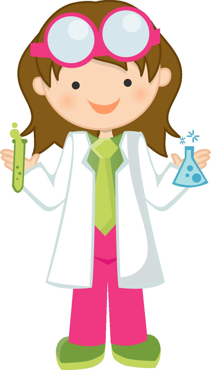 861x1510 Girl Scientist Free Clipart Science Fun Free, Clip