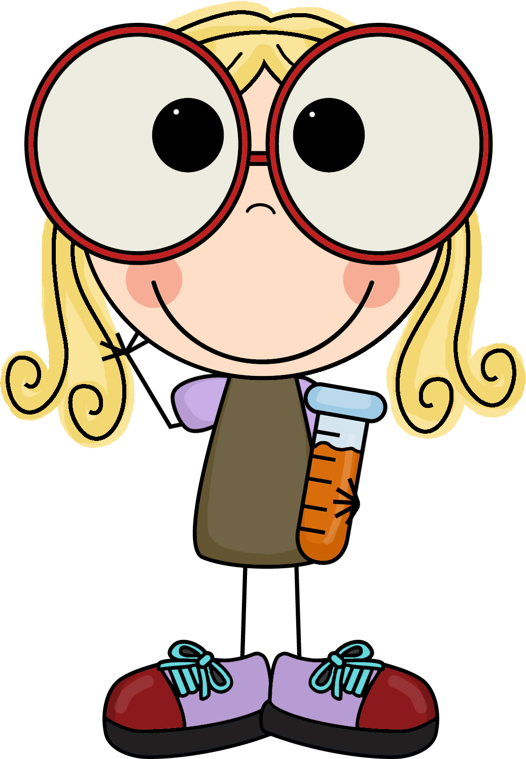 1037x1496 Collection Of Scientist Clipart Girl High Quality, Free