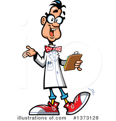 400x420 Scientist Clipart