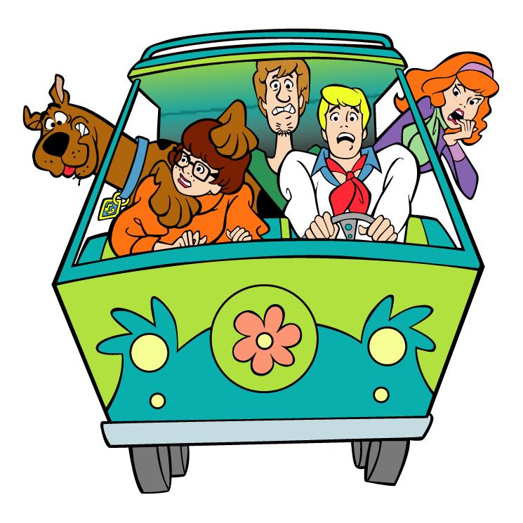 745x745 Scooby Doo 1 Free Vector 4vector