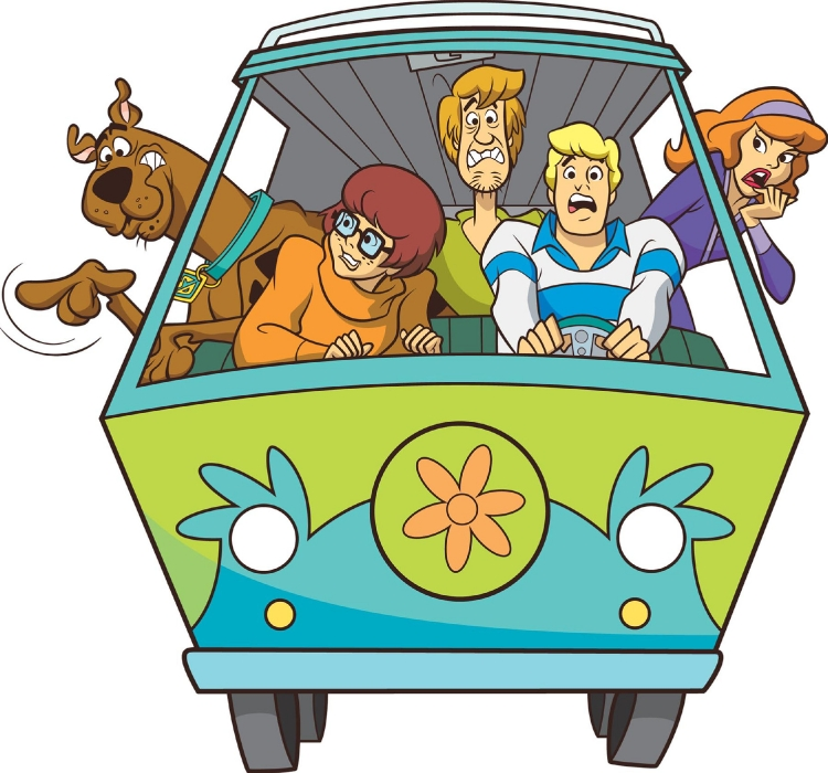 750x700 Scooby Doo Mystery Mobile Clipart