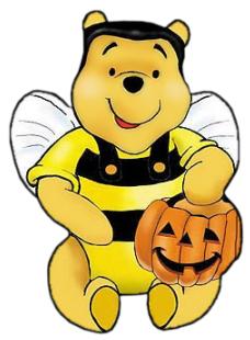 228x310 Halloween Clipart Bee