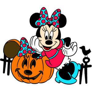 300x300 Halloween Clipart Minnie Mouse
