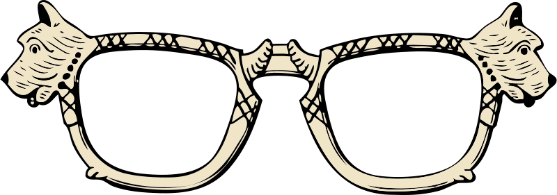 800x281 Free Clipart Scottie Dog Glasses Johnny Automatic