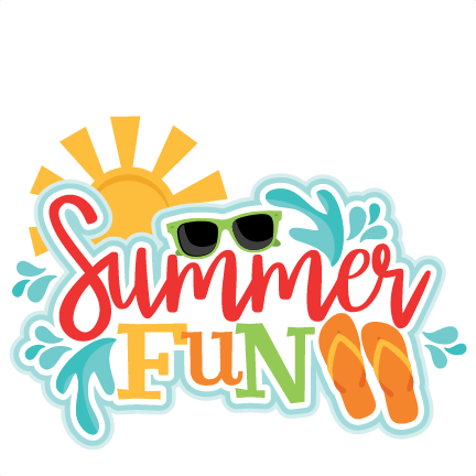 432x432 Summer Fun Clip Art Summer Clipart Summer Fun Pencil And In Color