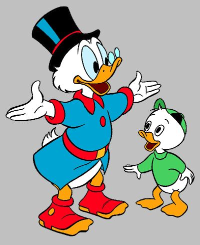 Scrooge Mcduck Clipart