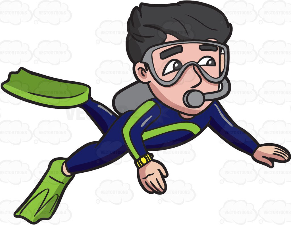 Scuba Diver Clipart at GetDrawings.com   Free for personal ...