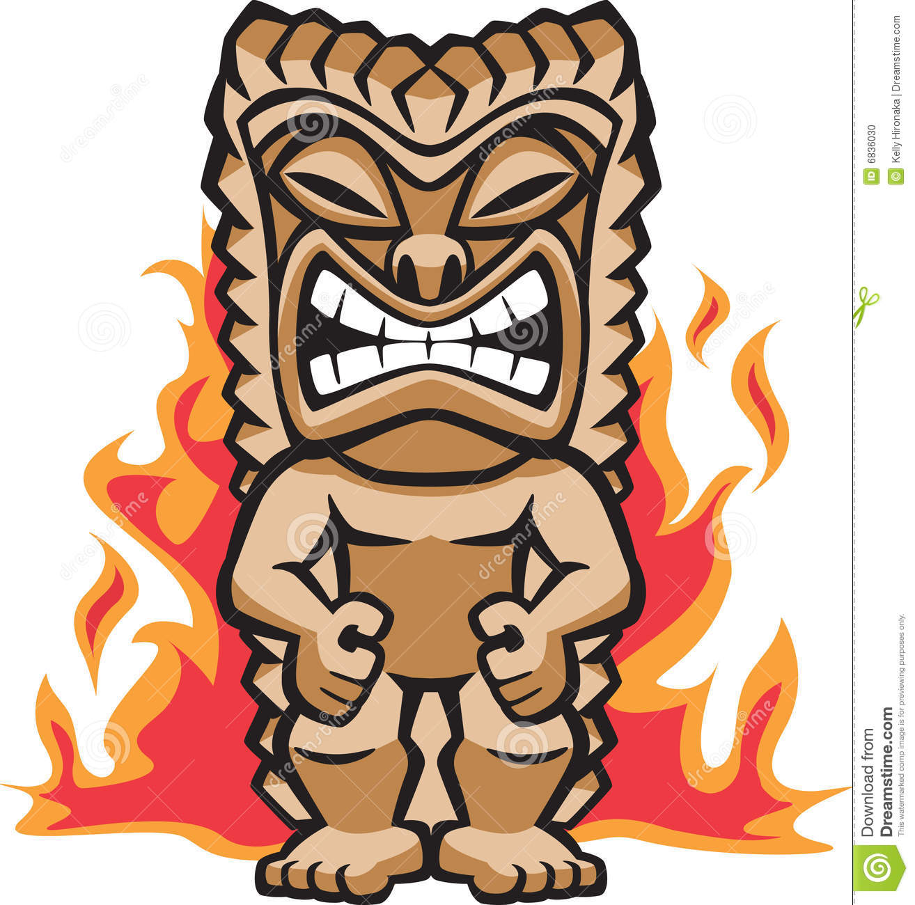 1314x1300 Hawaii Clipart Tiki Statue Free Collection Download And Share