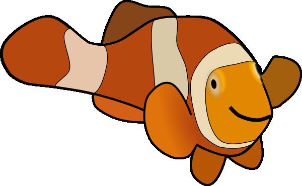 600x370 Clown Fish Clip Art Free Vector 4vector