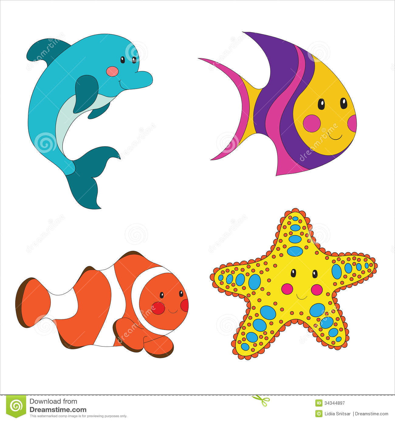 sea animals clipart free at getdrawings com free for personal use rh getdrawings com free animal clipart free animal clipart outline