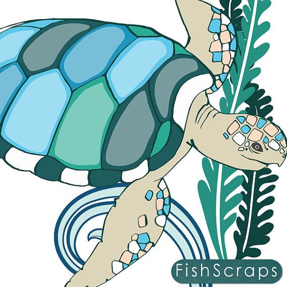 570x570 Sea Otter Clip Art