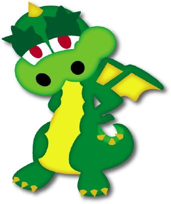 340x407 Green Dragon Clipart Clipart Panda