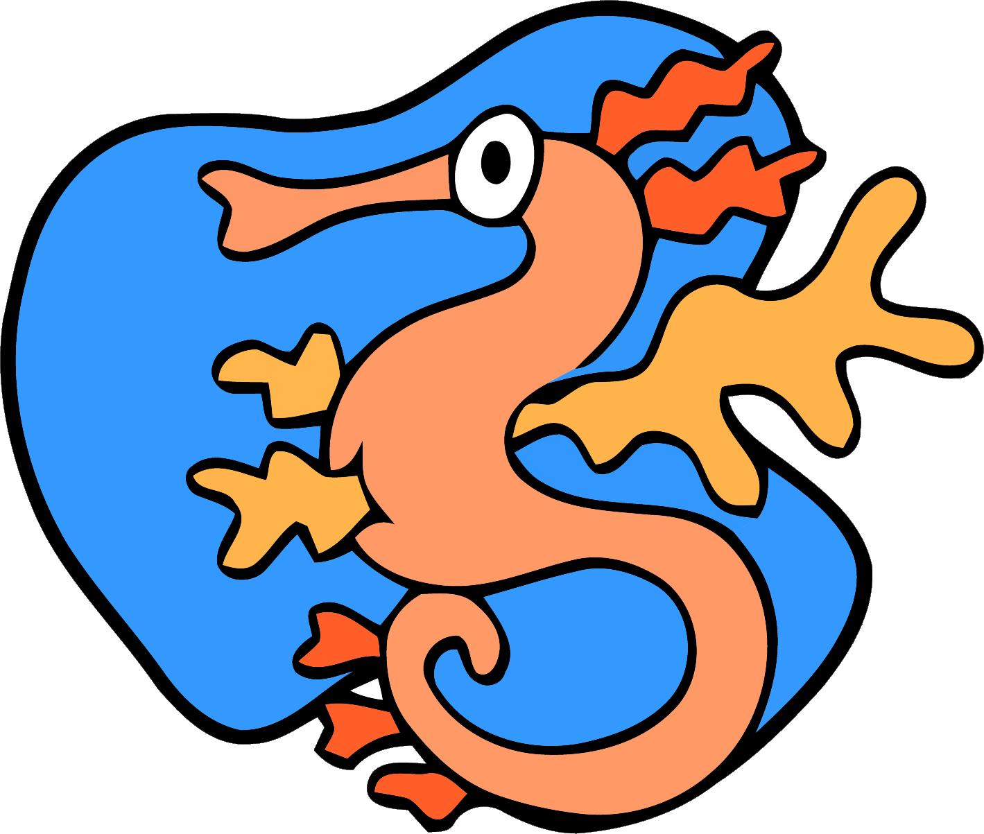 1419x1203 Sea Dragon Clipart Png