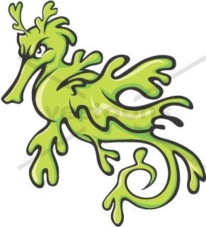 291x320 Sea Dragon Clipart