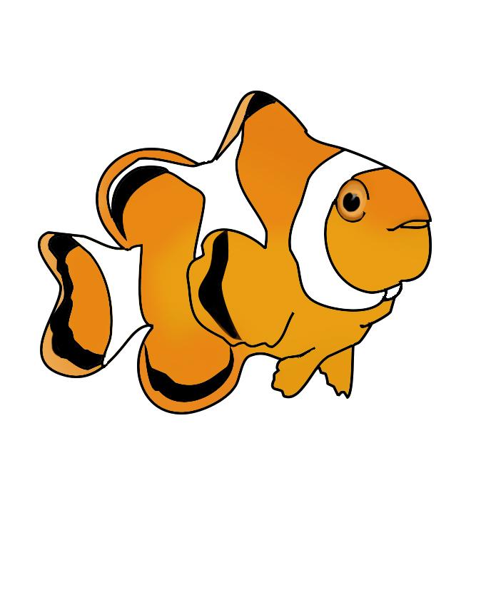 681x827 Fish Clip Art