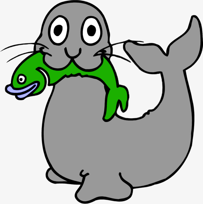650x654 Lovely Little Sea Lion, Benthos, Sea Lions, Green Minnow Png Image