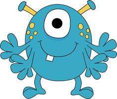236x200 Bold Design Ideas Cute Monster Clipart Free Clip Art Blue Image